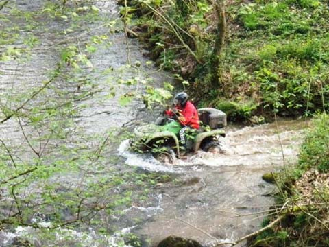 Raid Quad en Pays Basque